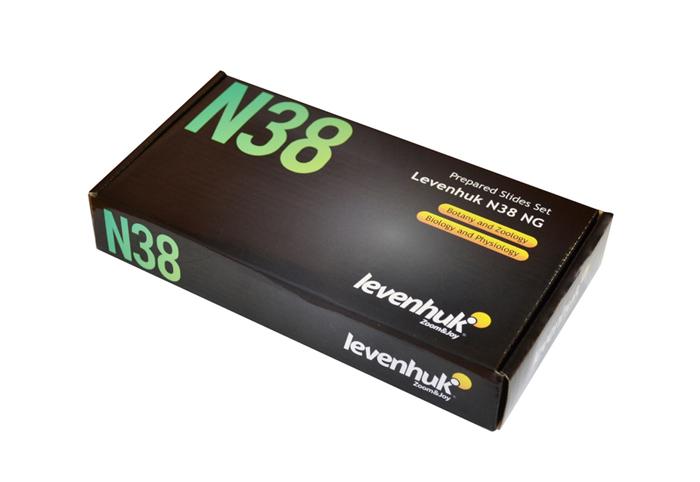 Картинка для Набор готовых микропрепаратов Levenhuk (Левенгук) N38 NG