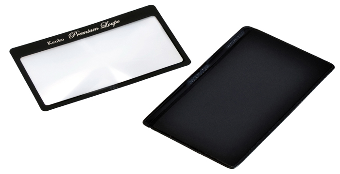 Картинка для Лупа-закладка Kenko Premium 3x, 78x41 мм, с чехлом (KTL-011)