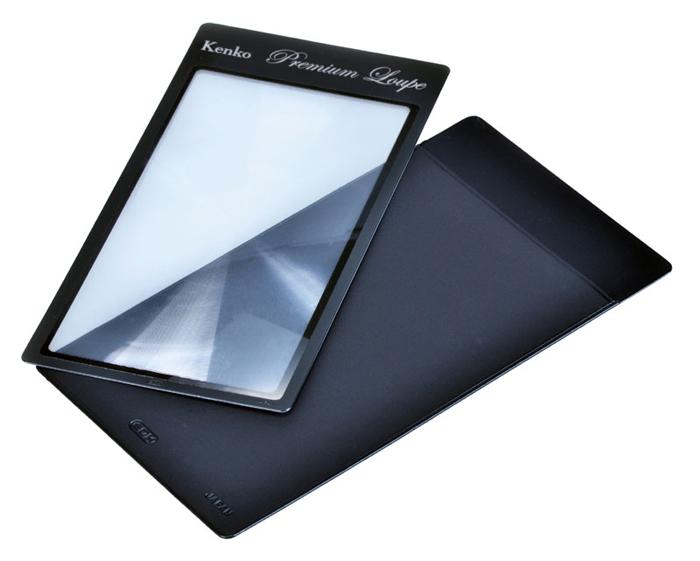Картинка для Лупа-закладка Kenko Premium 2,5х, 66x123 мм, с чехлом (KLT-014)