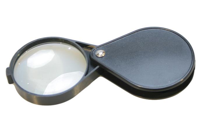 Картинка для Лупа складная Veber 5x, 60 мм, черная (1015)