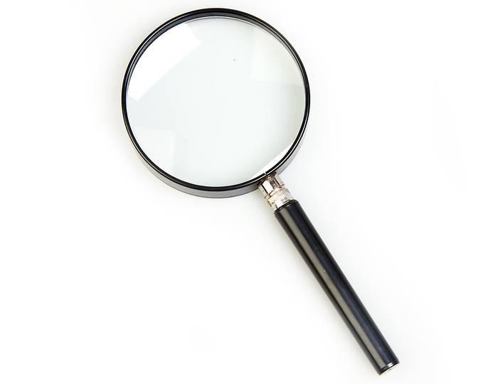 Картинка для Лупа на ручке Veber 3x, 90 мм (7030)