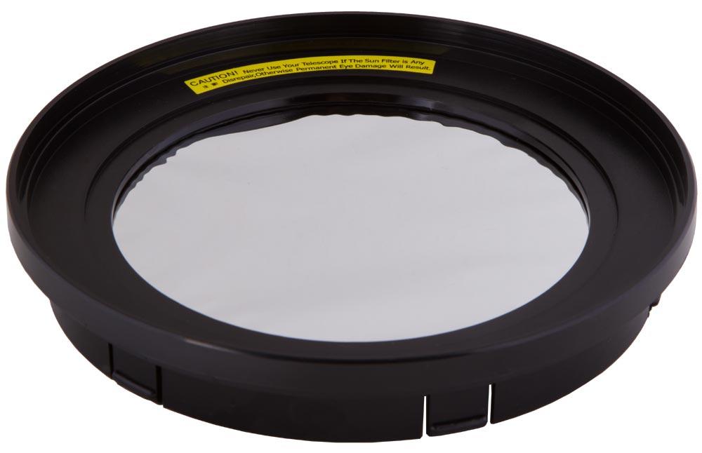Картинка для Солнечный фильтр Levenhuk (Левенгук) для рефлектора 130