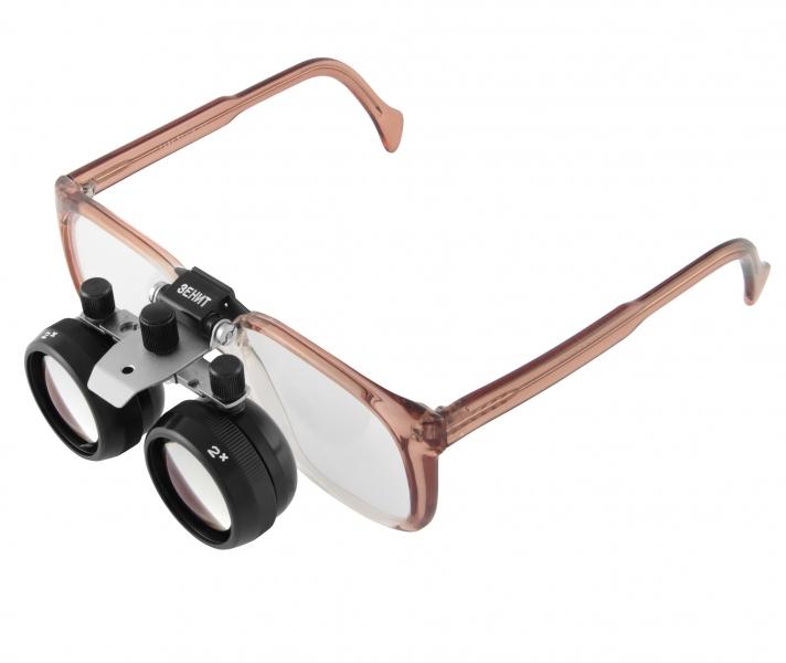 Картинка для Лупа-очки бинокулярная Zenit ЛБ-Ш 2x