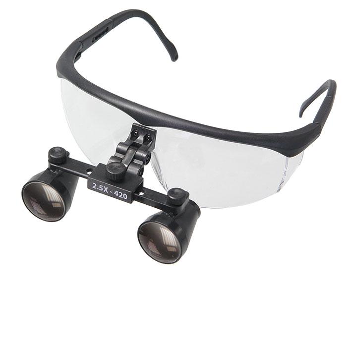 Картинка для Лупа-очки бинокулярная Микмед 250R 2,5x