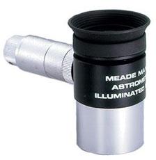 """Картинка для Окуляр Meade MA 12 мм, 1,25"""", со светящейся астрометрической сеткой, с контейнером"""