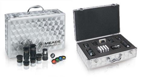 Набор окуляров Meade серии 4000 и фильтров в алюминиевом кейсе  12190.000