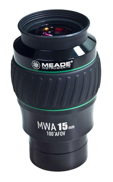 """Картинка для Окуляр Meade MWA 15 мм 100°, 2"""", WP"""
