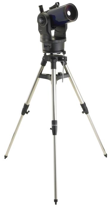 Зеркально-линзовая оптическая система телескопа Meade ETX-125 AT (f/15) собрана по схеме Максутова-К.