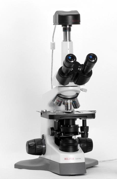 Картинка для Микроскоп Micros МС 100 (TXP), тринокулярный, со светодиодной подсветкой