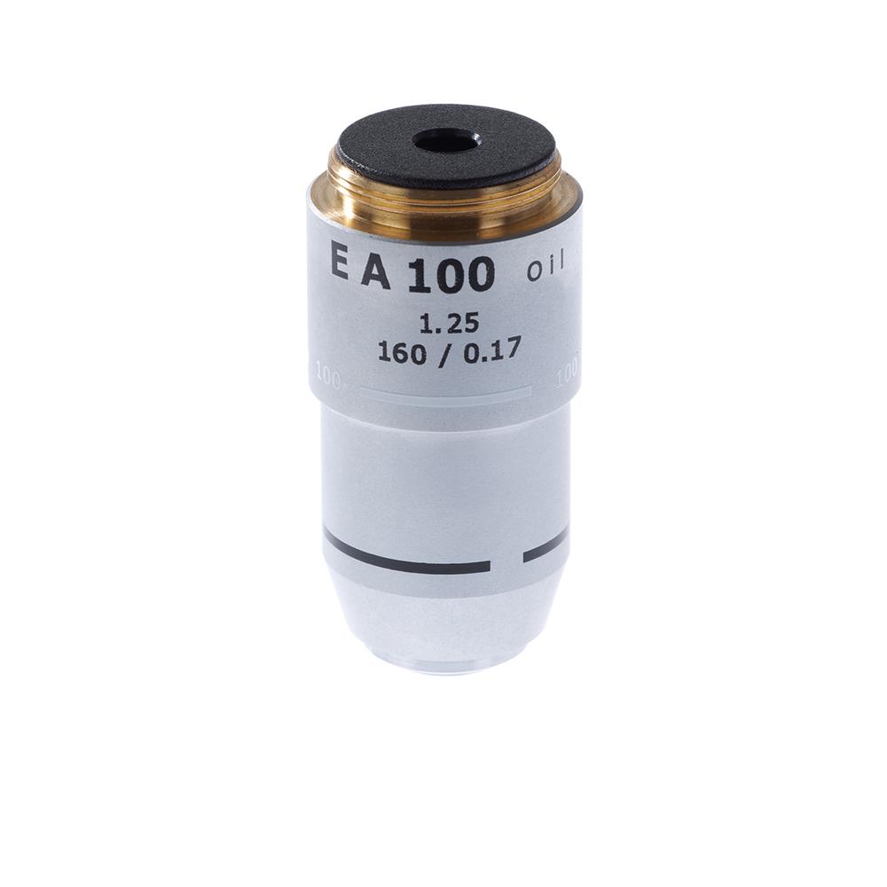 Картинка для Объектив 100х/1,25МИ 160/0,17 для микроскопа Микромед-2