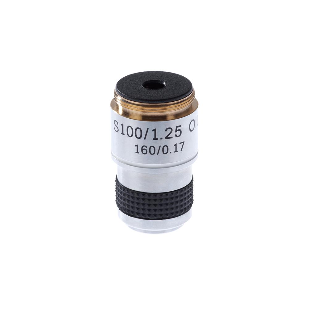 Картинка для Объектив 100х/1,25МИ 160/0,17 для микроскопов Микромед С-12, С-1, Р-1