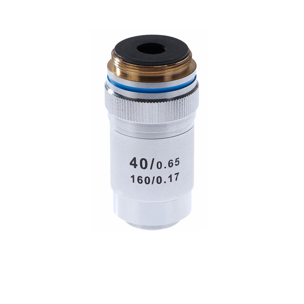 Картинка для Объектив 40х/0,65 160/0,17 для микроскопа Микромед-1