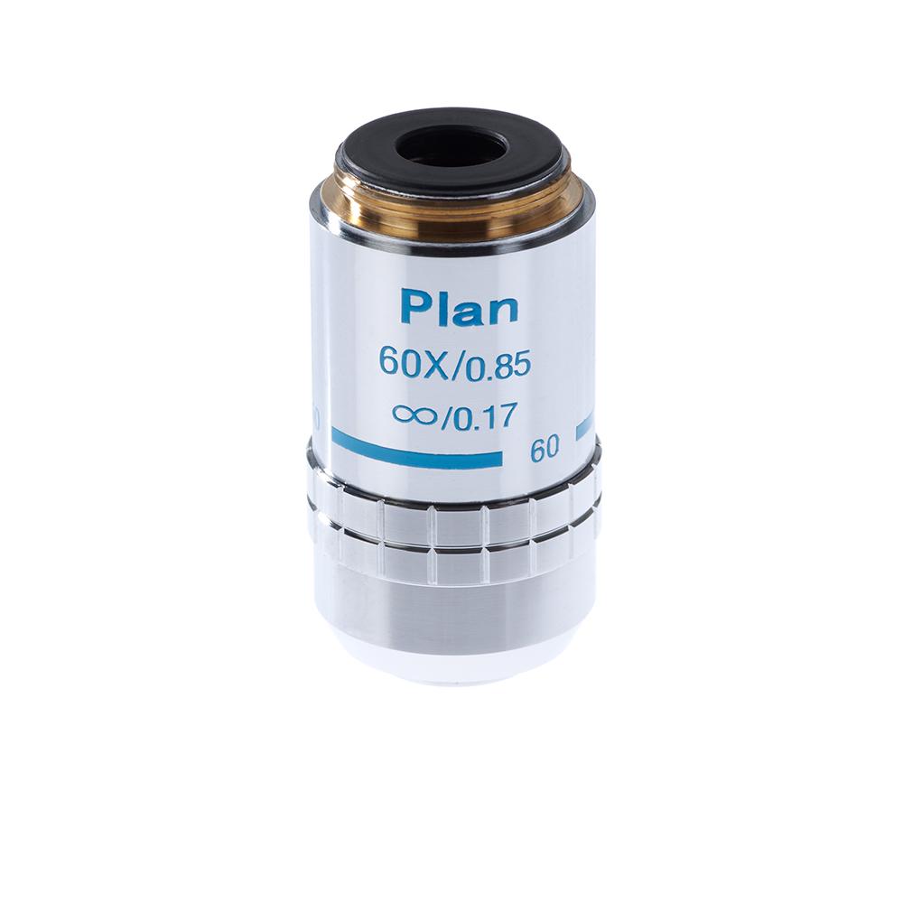 Картинка для Объектив 60х/0,85 Plan Л беск/0,17 для микроскопа Микромед-3 ЛЮМ