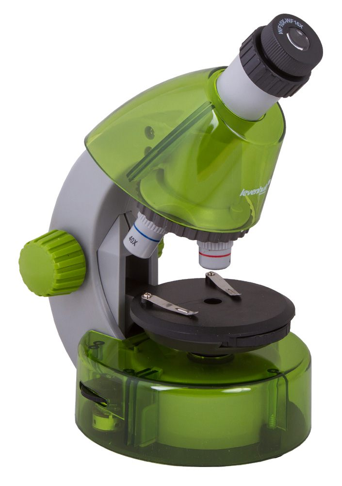 Картинка для Микроскоп Levenhuk (Левенгук) LabZZ M101 Lime\Лайм
