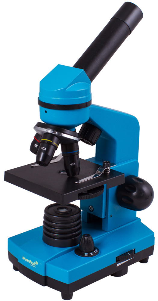 Картинка для Микроскоп Levenhuk (Левенгук) Rainbow 2L Azure\Лазурь