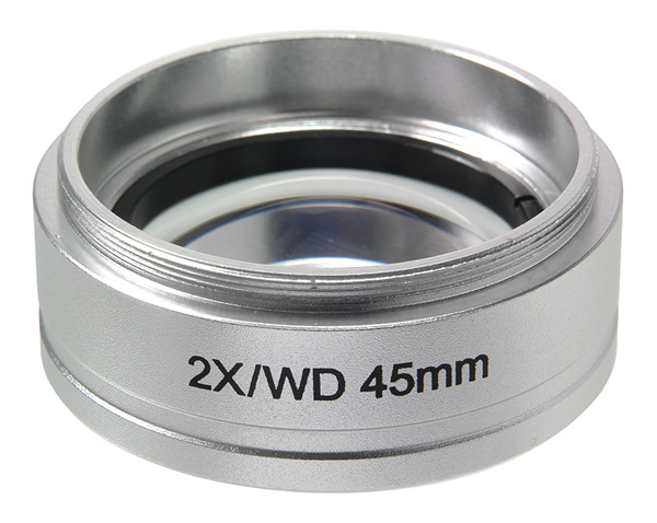 Картинка для Насадка 2х на объектив микроскопов Микромед МС-5-ZOOM LED