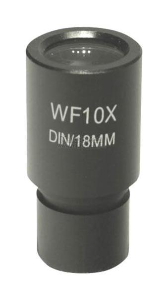 Картинка для Окуляр 10х/18 (D23,2 мм) для микроскопов, со шкалой
