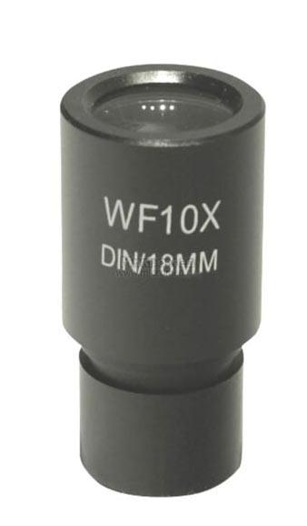 Картинка для Окуляр 10x/18 (D23,2 мм) для микроскопов, с сеткой