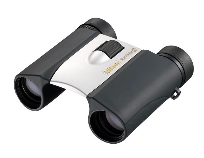 Картинка для Бинокль Nikon Sportstar EX 10x25, серебристый