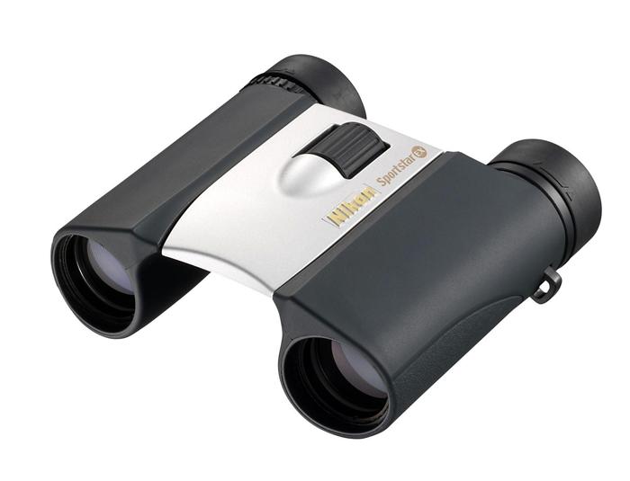 Картинка для Бинокль Nikon Sportstar EX 8x25, серебристый