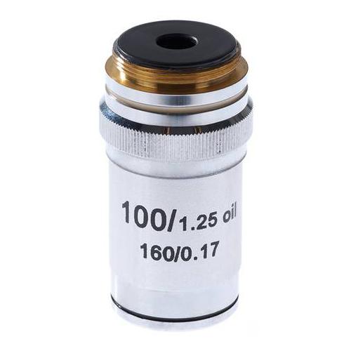Картинка для Объектив 100х/1,25МИ 160/0,17 для микроскопа Микромед-1
