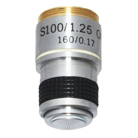 Картинка для Объектив S100x/1,25МИ 160/0,17 для микроскопов Биомед 1/2/2 LED