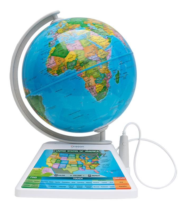 Картинка для Интерактивный глобус Oregon Scientific Adventure AR