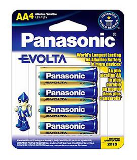 Картинка для Элемент питания Panasonic AA LR6 (4 шт.), алкалиновый