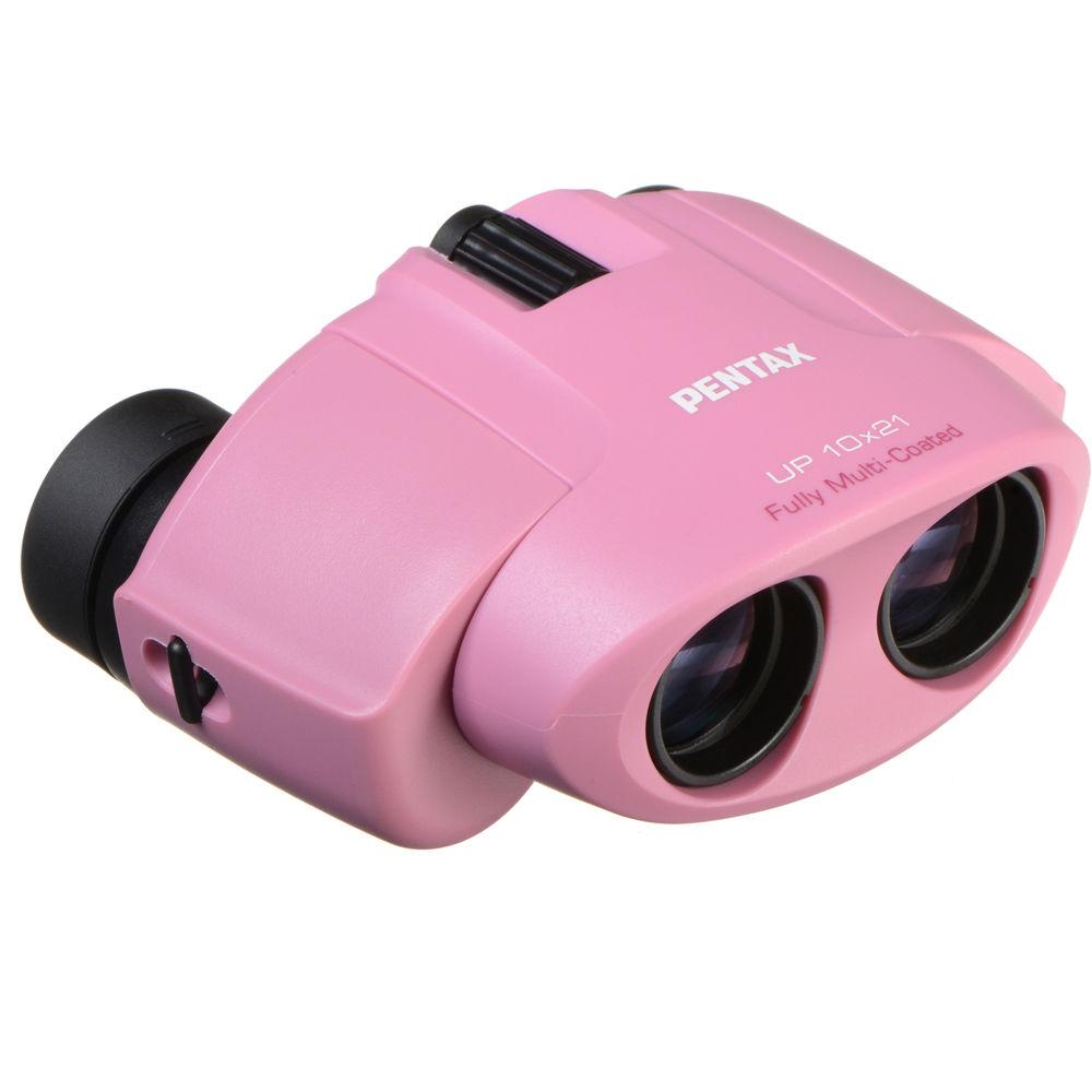Картинка для Бинокль PENTAX UP 10x21, розовый