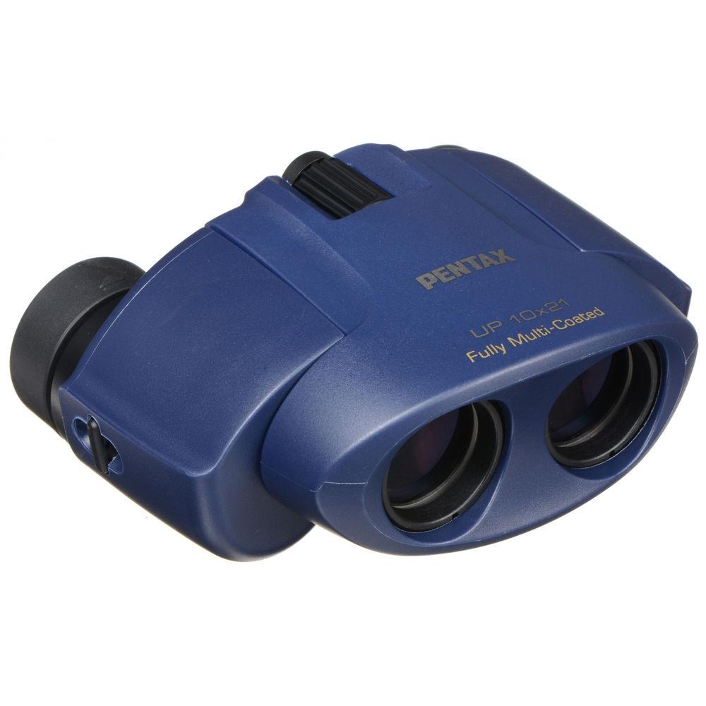 Бинокль PENTAX UP 10x21, синий фото