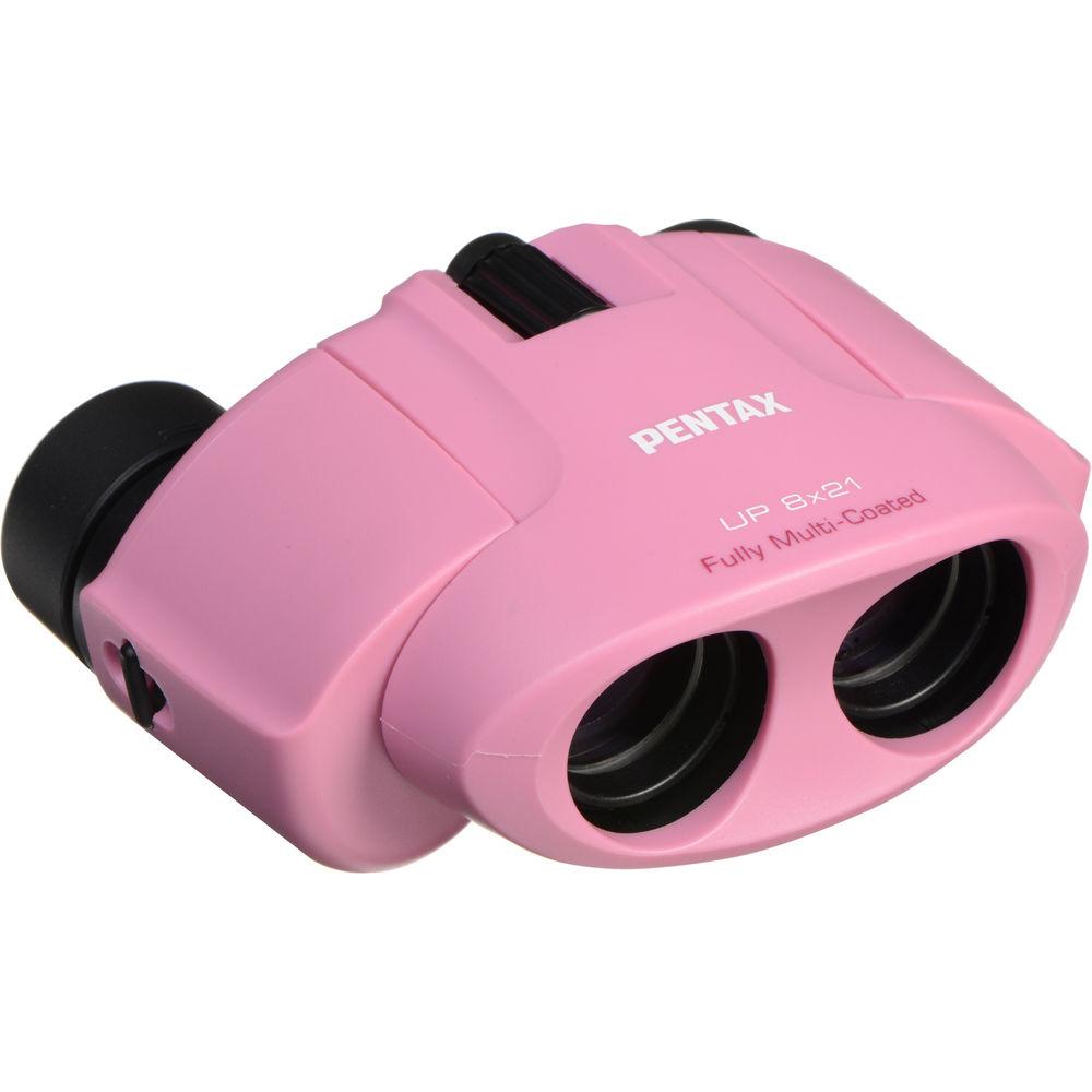 Картинка для Бинокль PENTAX UP 8x21, розовый