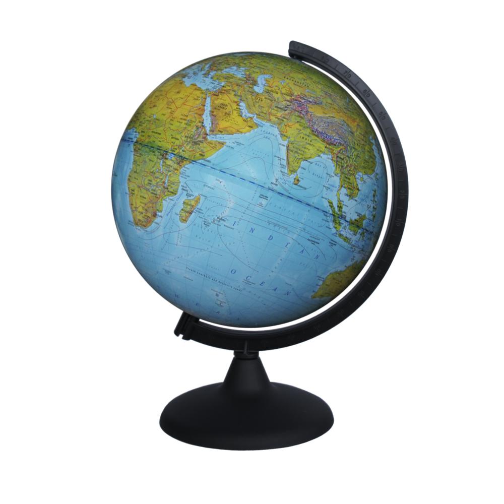 Картинка для Глобус физический диаметром 250 мм, на английском языке