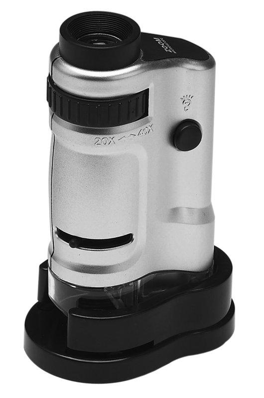 Картинка для Микроскоп карманный Kromatech 20–40x, с подсветкой (MG10081-8)