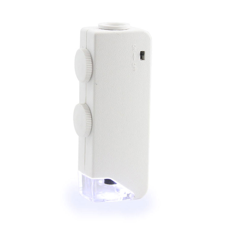 Картинка для Микроскоп карманный Veber 160x-200х LED