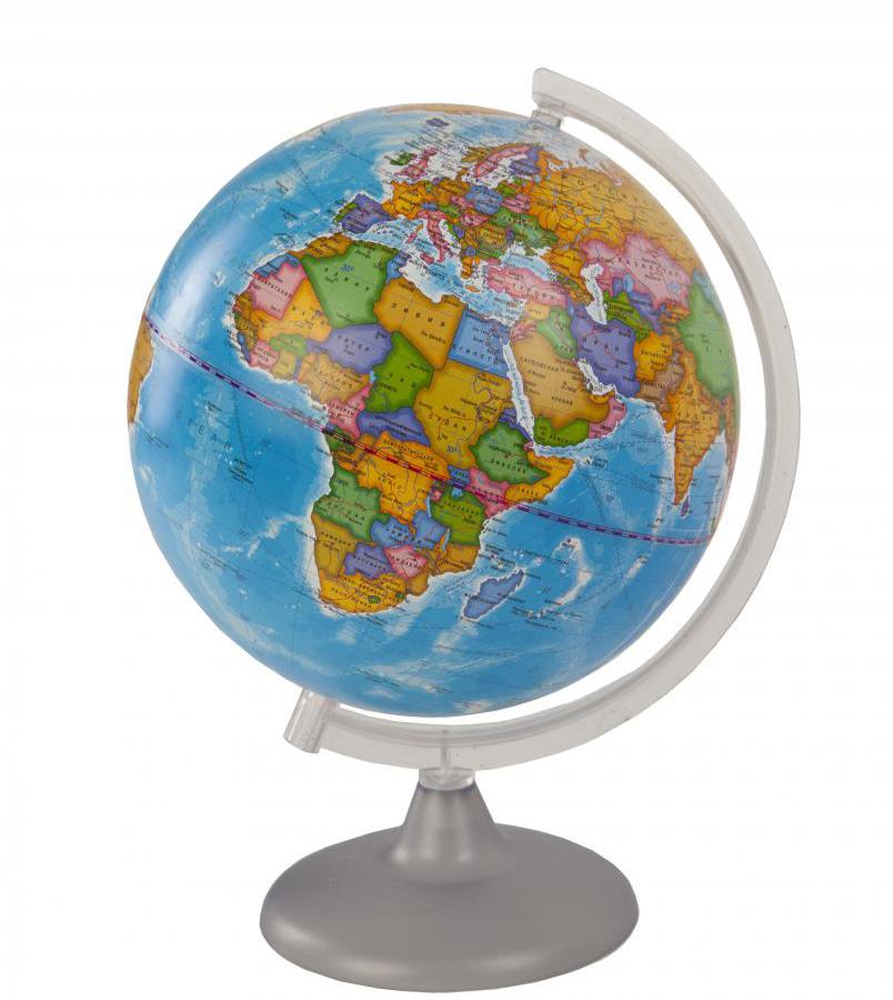Картинка для Глобус политический диаметром 250 мм