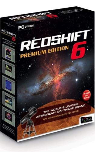 Компьютерный планетарий Redshift 6 Premium PC-DVD (DVD-box) - артикул: 55310