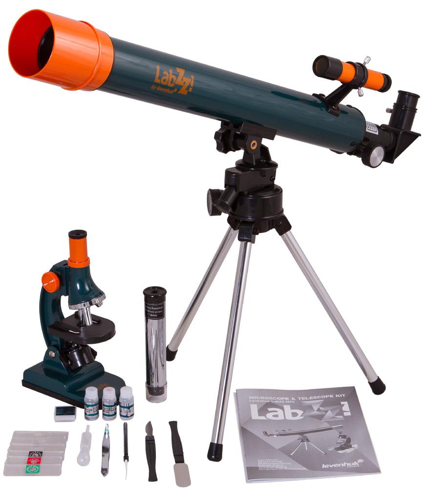 Набор Levenhuk (Левенгук) LabZZ MT2: микроскоп и телескоп фото