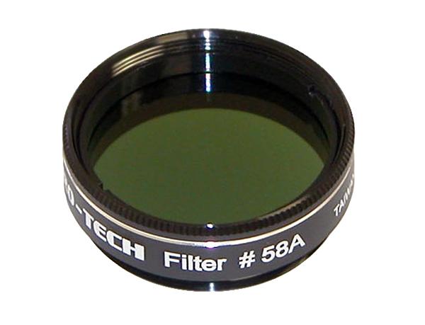 Картинка для Светофильтр Sky-Watcher № 58, темно-зеленый
