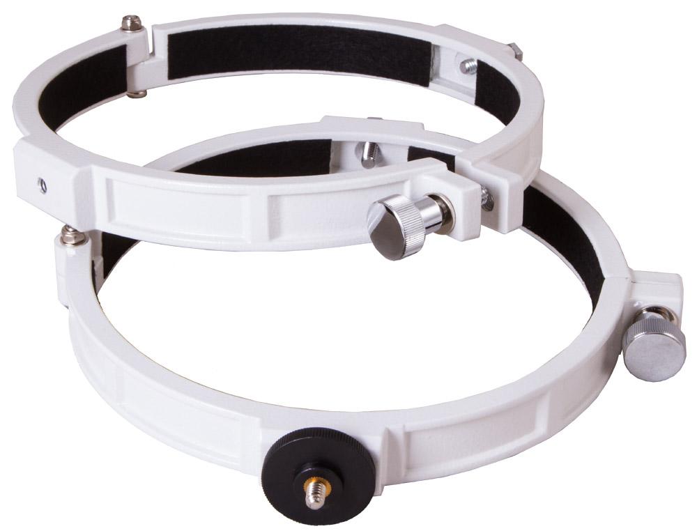 Картинка для Кольца крепежные Sky-Watcher для рефлекторов 150 мм (внутренний диаметр 182 мм)