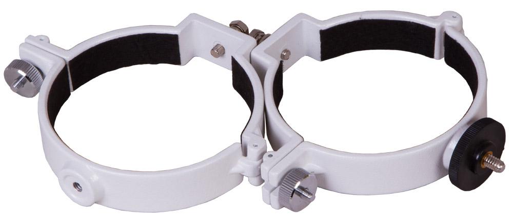 Картинка для Кольца крепежные Sky-Watcher для рефракторов 101–102 мм (внутренний диаметр 100 мм)