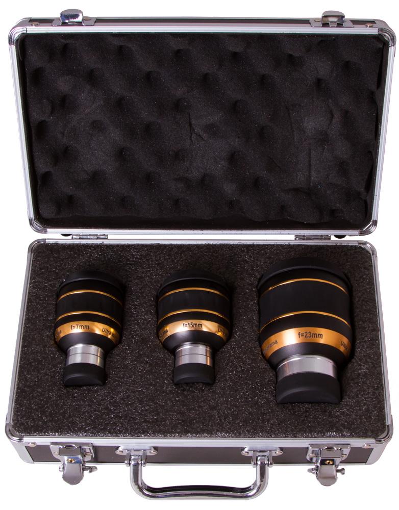 Картинка для Набор окуляров Sky-Watcher UWA 82° (7 мм, 15 мм, 23 мм)