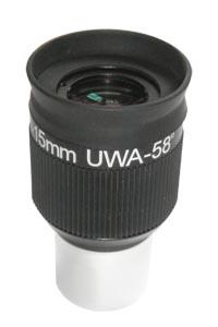 Окуляр Sky-Watcher UWA 58° (SWA) 15 мм, 1,25