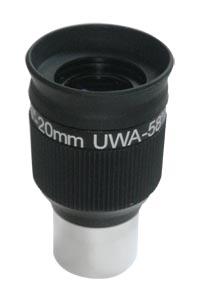 """Картинка для Окуляр Sky-Watcher UWA 58° (SWA) 20 мм, 1,25"""""""