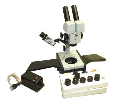 Картинка для Стереоскопический микроскоп МБС-9, вторичная сборка