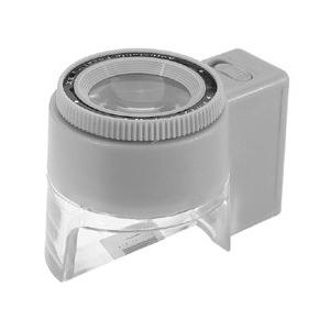 Картинка для Лупа Kromatech часовая контактная 8х, 23 мм, измерительная, с подсветкой (1 LED) MG13100-2