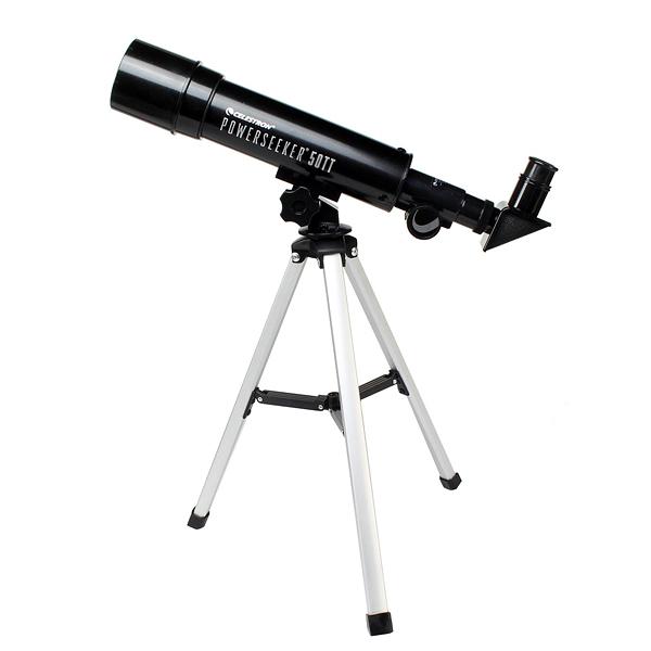 Картинка для Телескоп Celestron PowerSeeker 50 TT AZ, в кейсе