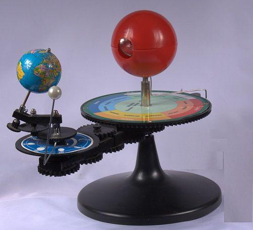 Картинка для Теллурий. Модель «Солнце, Земля, Луна»