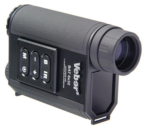 Картинка для Монокуляр ночного видения цифровой Veber Bat 6x32, с дальномером