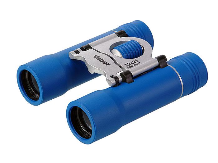 Картинка для Бинокль Veber Sport БН 12х25, синий