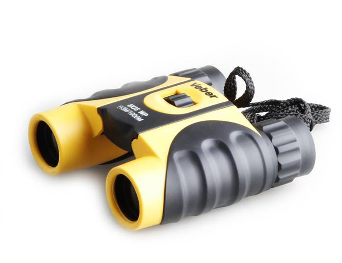 Картинка для Бинокль Veber БН 10х25 WP, желто-черный